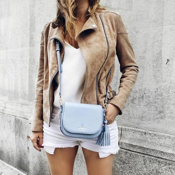 kate spade Handbags - Light Blue Kate Spade Cross Body Bag